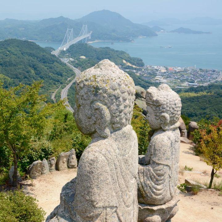 innoshima shiarataki shrine buddhas mukoujima