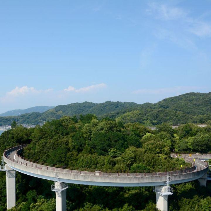 shimanami kaido cycling seto inland sea Kurushima Kaikyo hashi