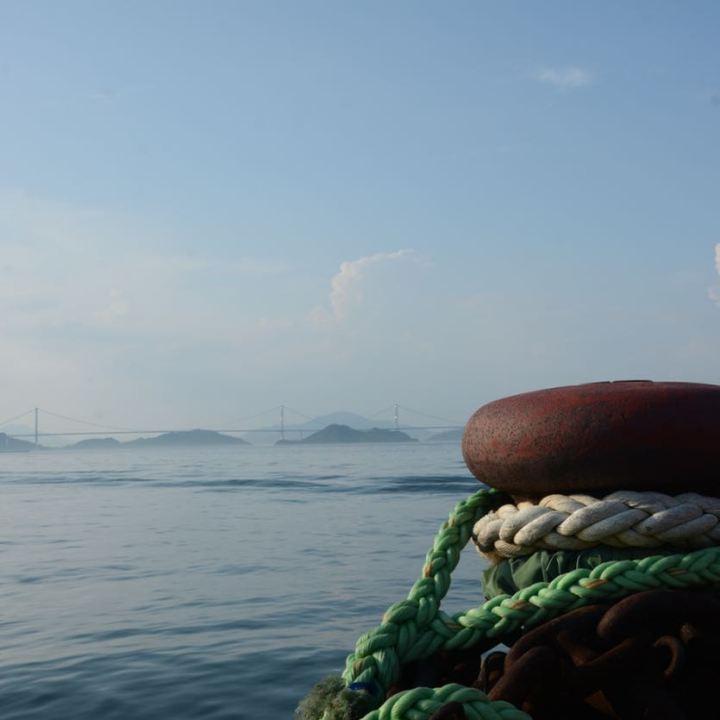 shimanami kaido cycling seto inland sea imabari port
