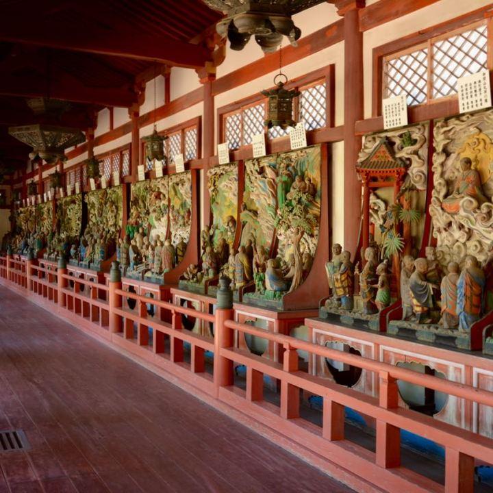 ikuchijima setoda kosanji temple shrine rakando kozo nurse