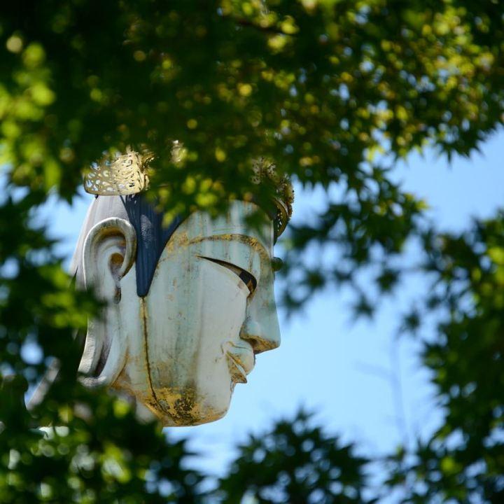 ikuchijima setoda kosanji temple shrine hill of hope marble hill buddha statue