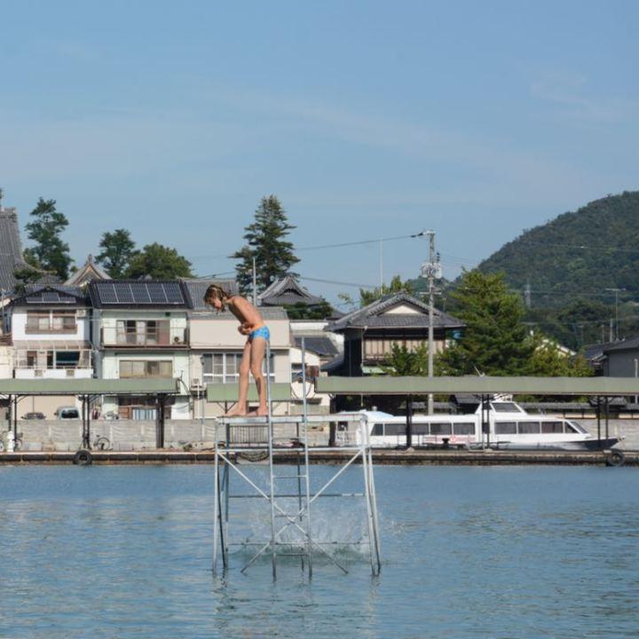 ikuchijima setoda swimming beach