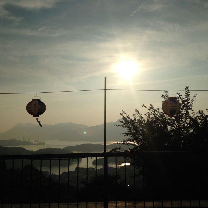 innoshima hotel lantern