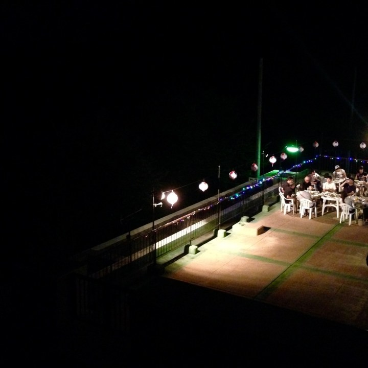 innoshima hotel terrace party