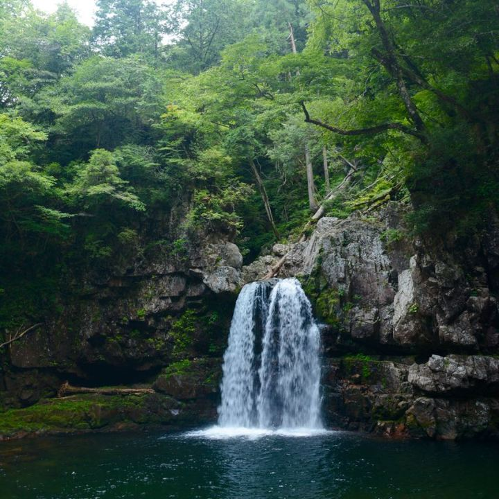 Sandankyo gorge Hiroshima Japan waterfall