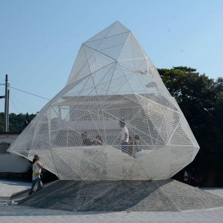 naoshima japan miyanoura setouchi triennale sculpture