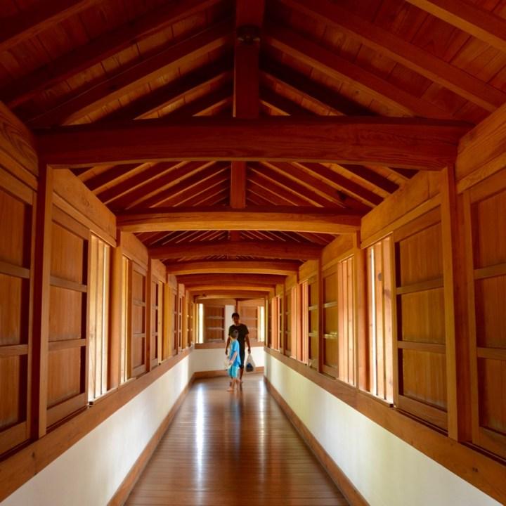 himeji castle architecture hallway princess quarter