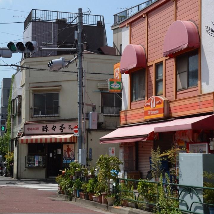 yanaka shopping shop yamazaki architecture