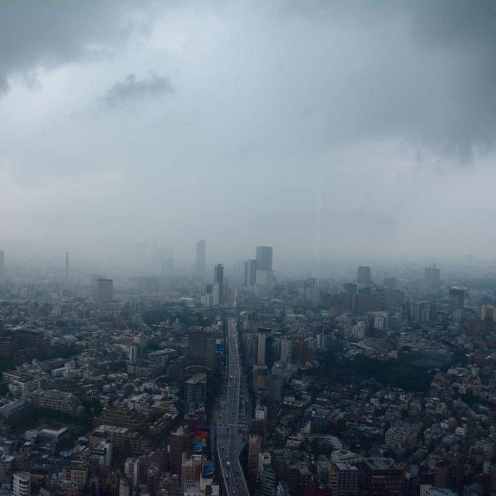 roppongi tokyo mori tower city view expressway