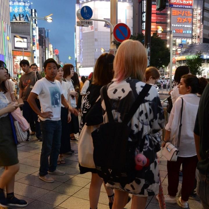 Shinjuku tokyo kabukicho panda dress