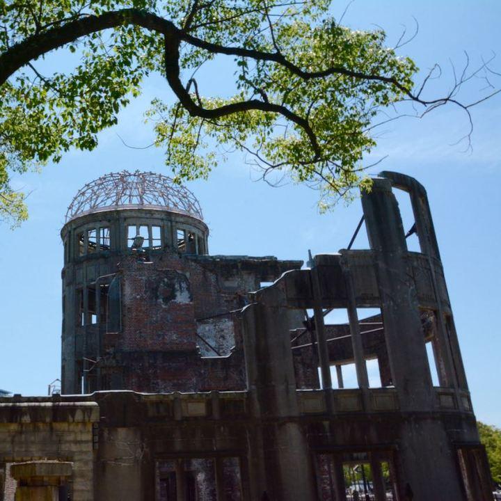 Hiroshima A bomb dome ruin