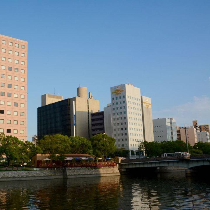 Hiroshima river restaurant