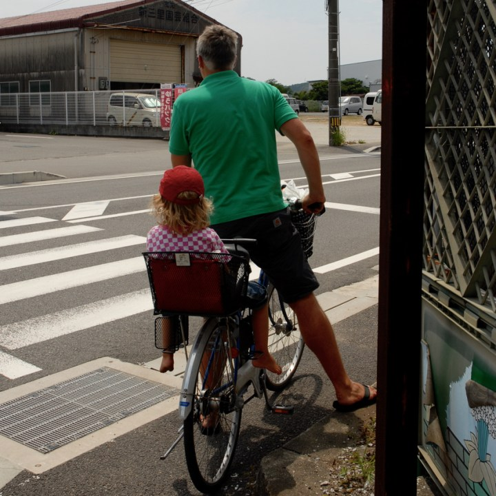 travel with children kids japan tokyo cycling mamachari