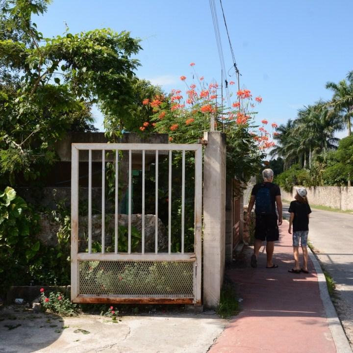 Cancun Mexico valladolid yucatan walk into town