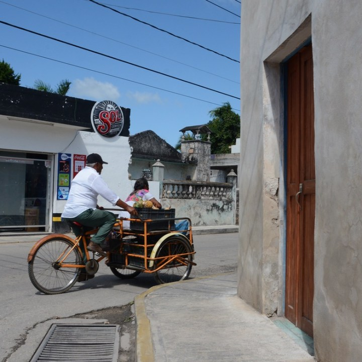 Travel with children kids mexico tizimin bke
