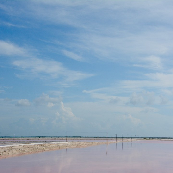 Travel with children kids mexico las coloradas lakes