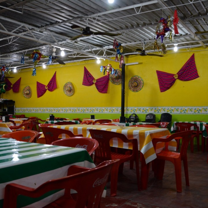 Travel with children kids mexico merida sopa huach restaurant