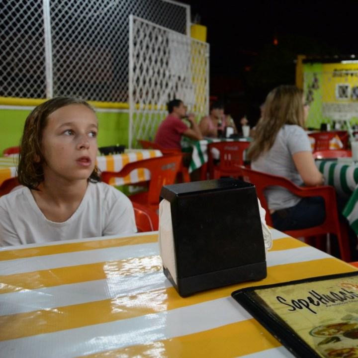 Travel with children kids mexico merida Restaurant