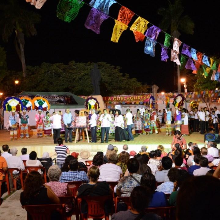 Travel with children kids mexico merida oaxacan festival