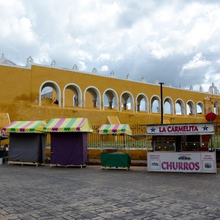 Travel with children kids mexico merida izamal festival