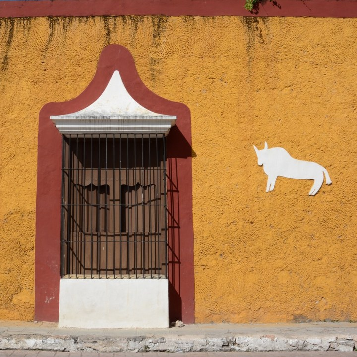 Travel with children kids mexico merida izamal architecture
