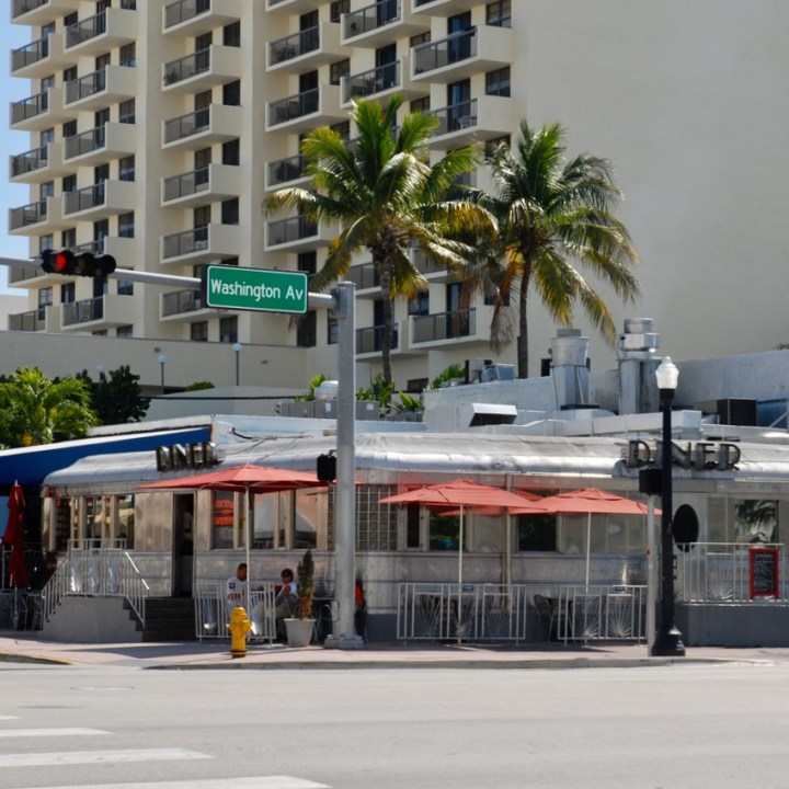 travel with kids children miami south beach diner 11th street breakfast