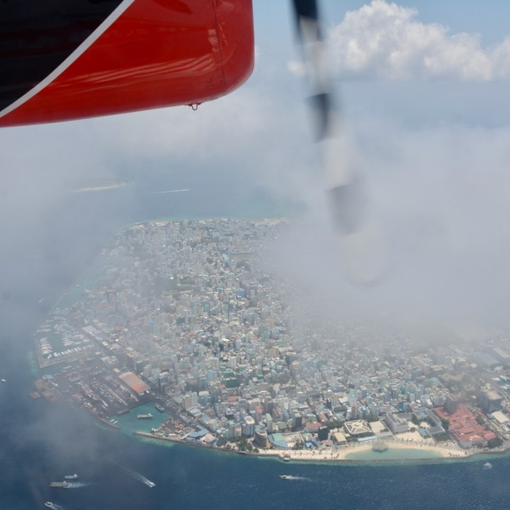 travel with children kids maldives lux south ari atoll male from the air
