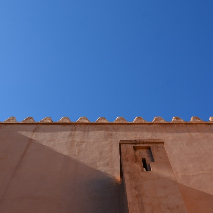 travel with children kids morocco marrakech saadian tombs walls