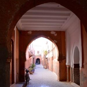 travel with children kids morocco marrakech souk alley