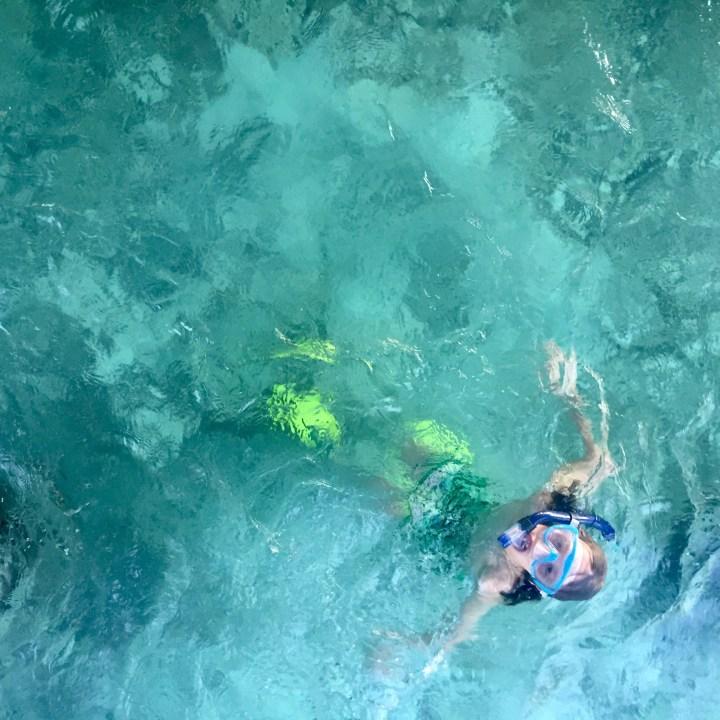 travel with children kids maldives lux south ari atoll snorkelling