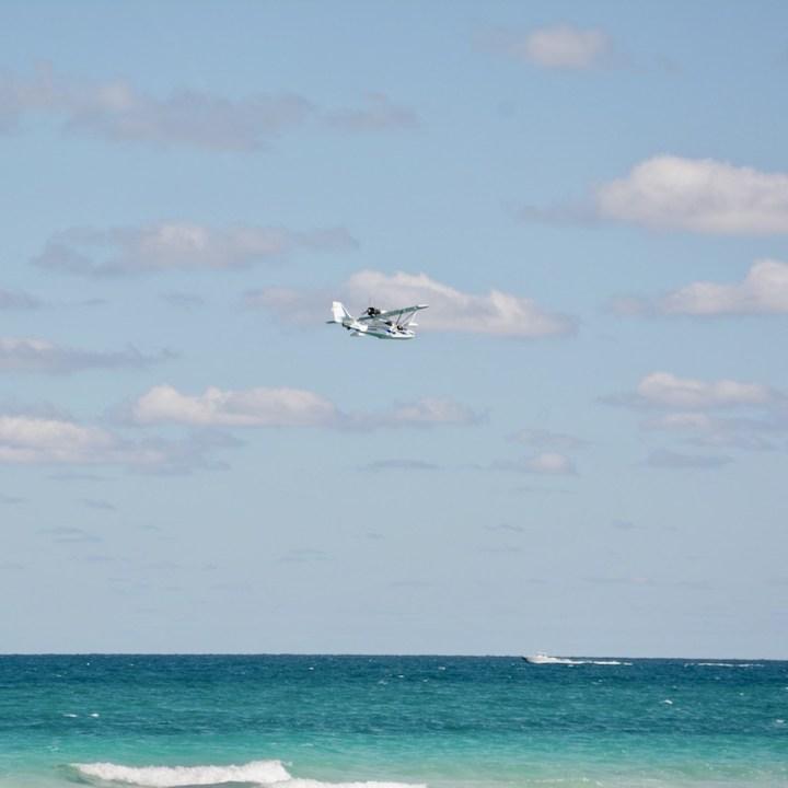 travel with kids children miami south beach sea plane