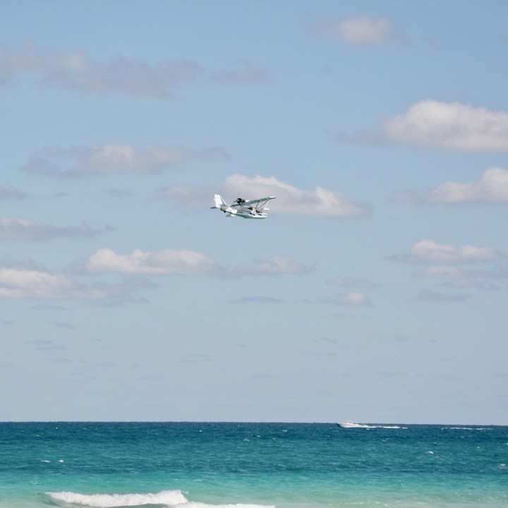 travel with kids children miami south beach sea plane