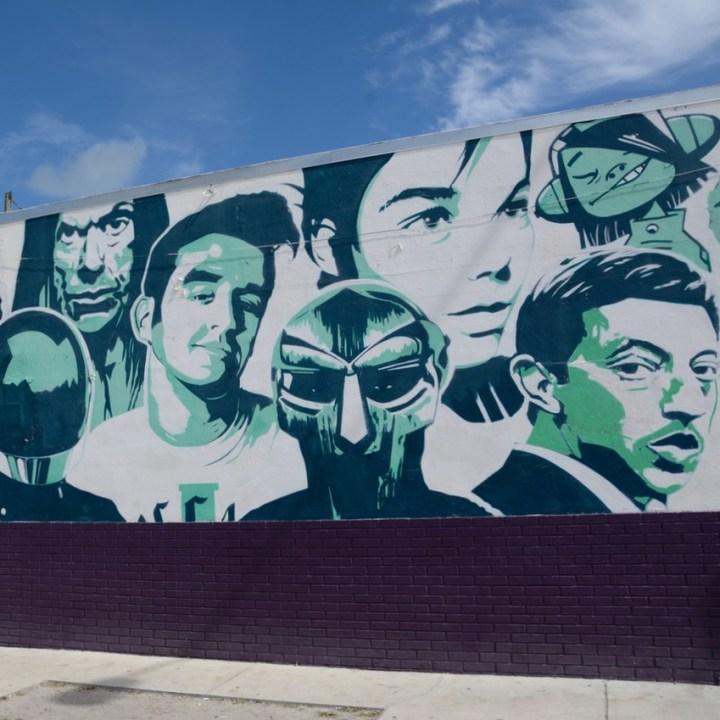 travel with kids children miami south wynwood street art bjork