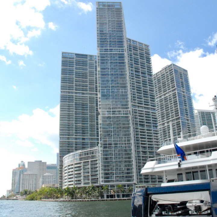 travel with kids children miami usa south beach high-rise buildings