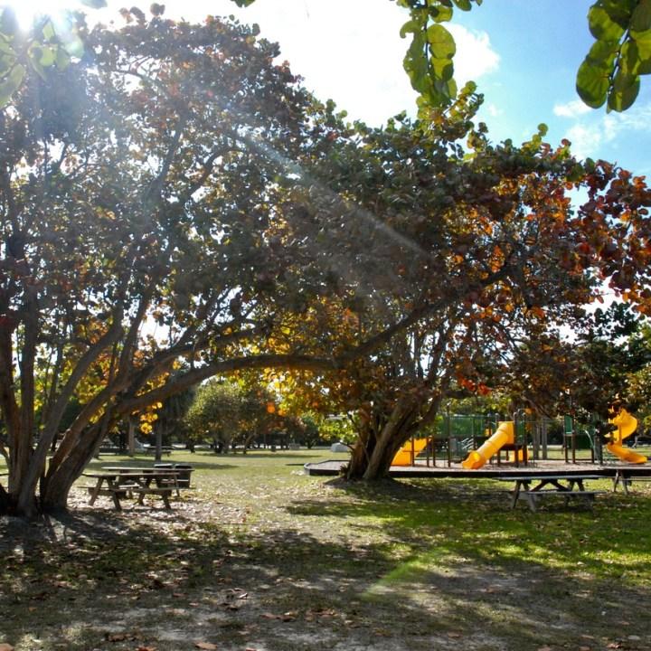 travel with kids children miami usa virginia key beach Bill Baggs cape florida state park playground