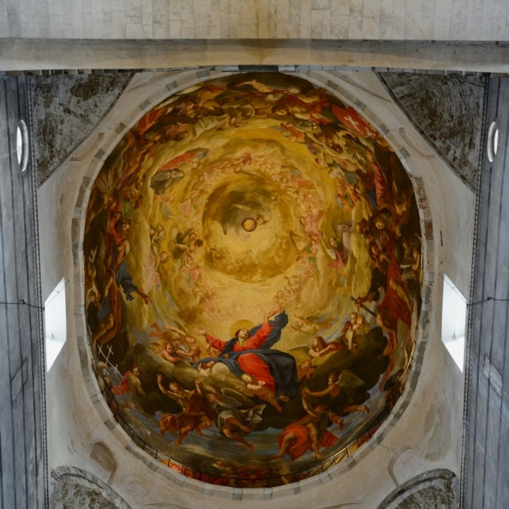 travel with kids children pisa italy miracle square cathedral mural