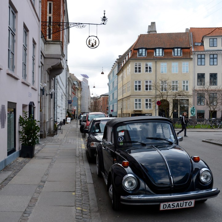 travel with kids children Copenhagen Denmark vw beetle