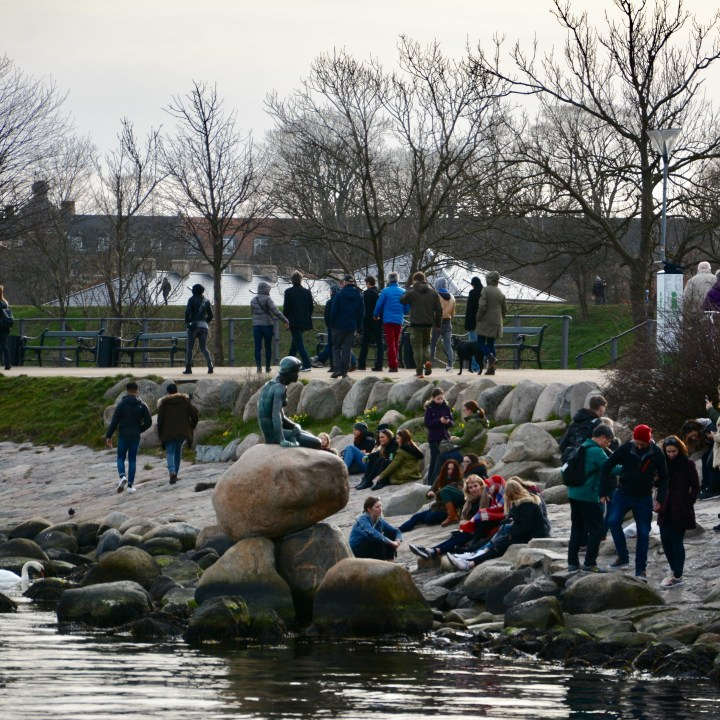 travel with kids children Copenhagen Denmark little mermaid