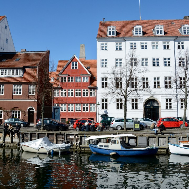 travel with kids children copenhagen denmark christianshavn canal architecture