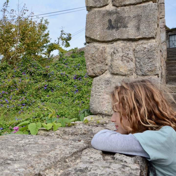 travel with kids children porto portugal view point