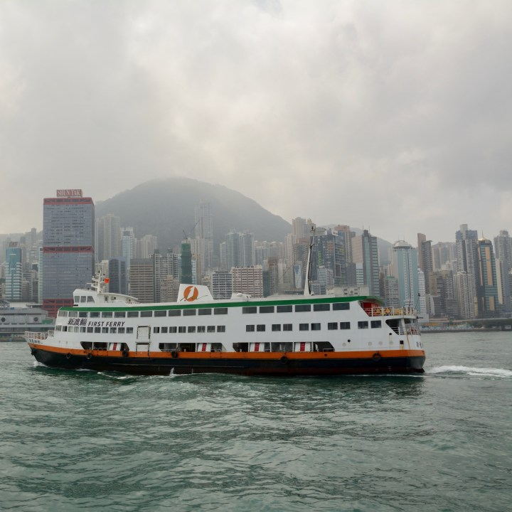 travel hong kong with kids children first ferry watching
