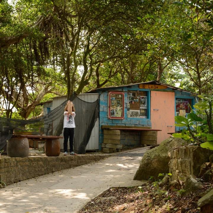 travel hong kong with kids children lamma island lo so shing village shop