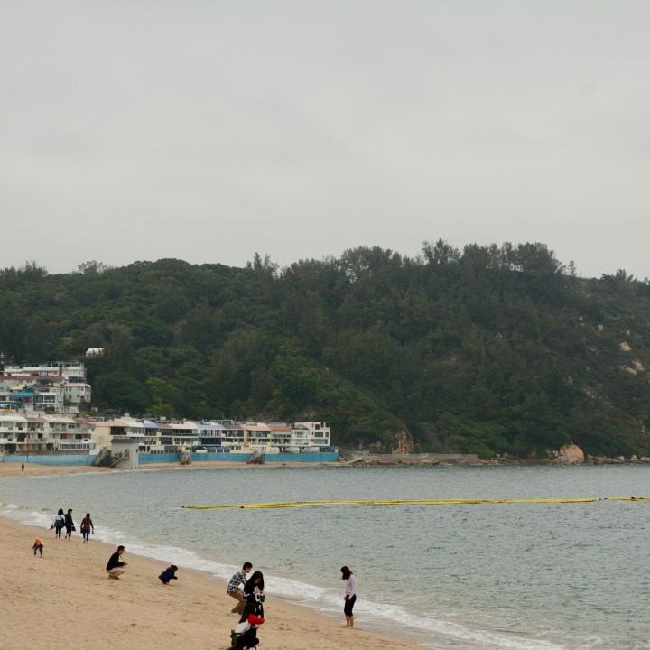 travel with kids children cheung chau island hong kong beach