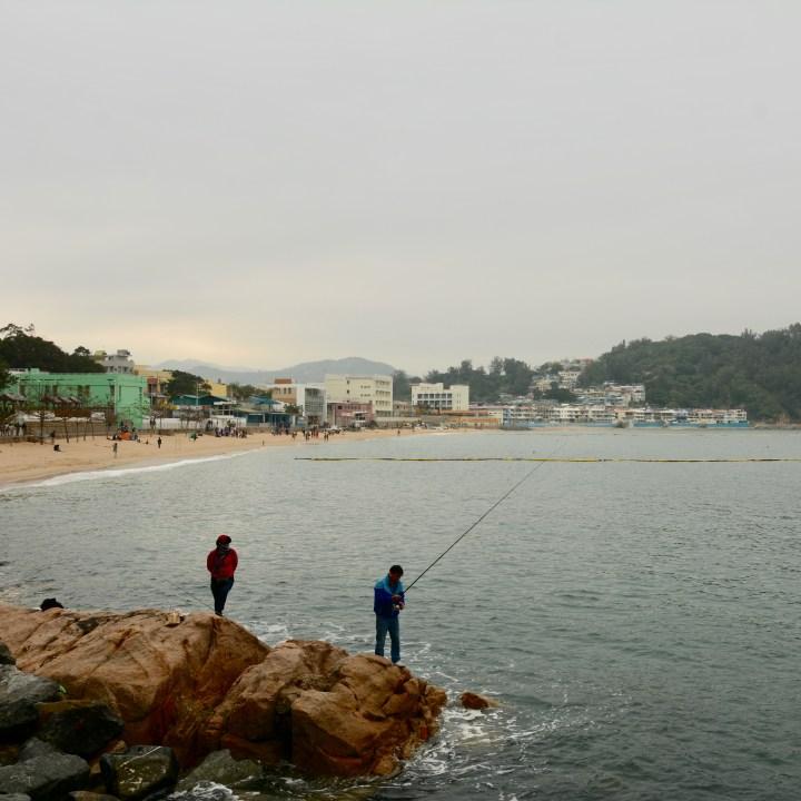 travel with kids children cheung chau island hong kong fishing