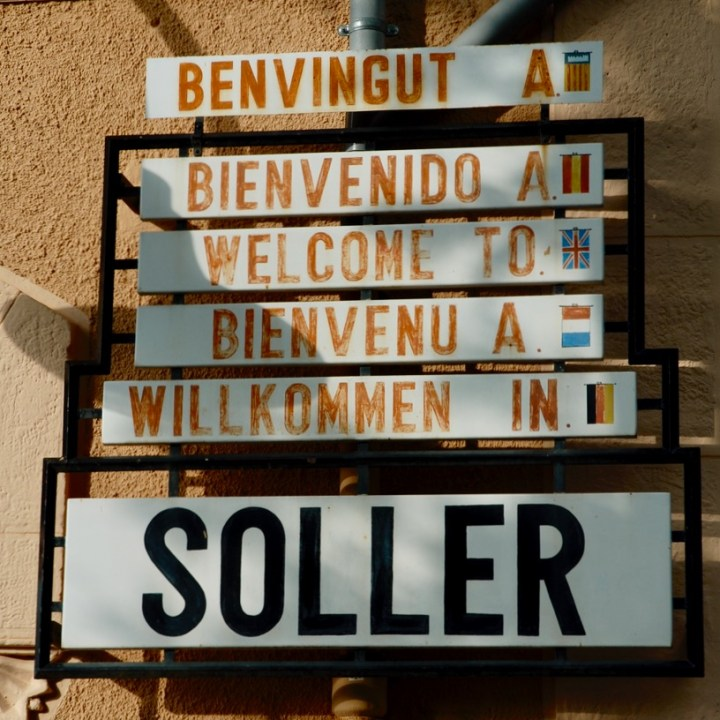 travel with kids children Soller Mallorca Spain welcome