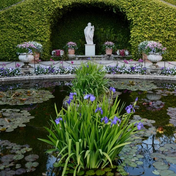 travel with kids children isola madre lago maggiore italy palazzo borromeo pond