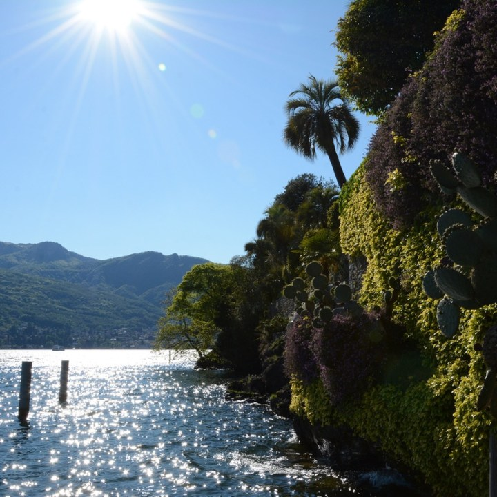 travel with kids children isola madre lago maggiore italy wall