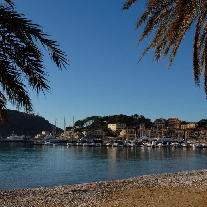 travel with kids children Soller Mallorca Spain port de soller