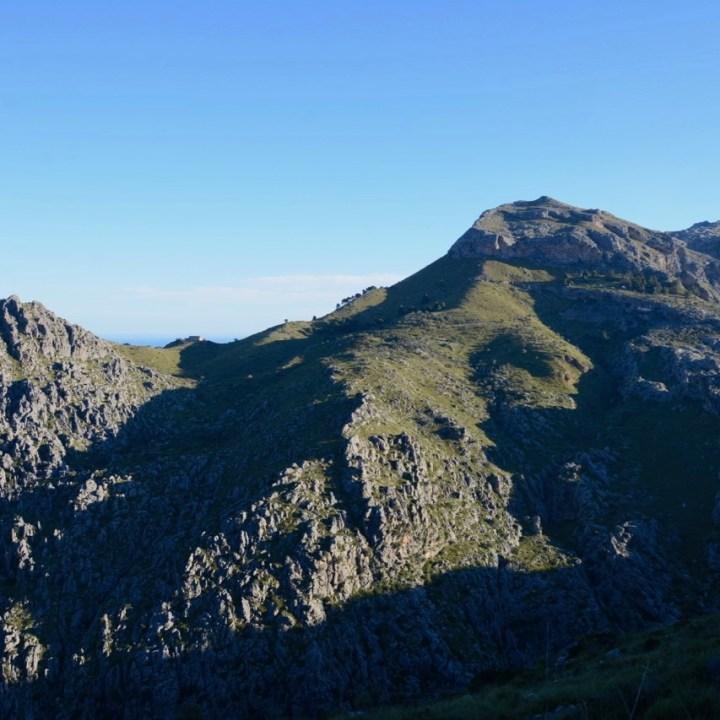 travel with kids children soller mallorca spain hiking torrent de pareis puig roig