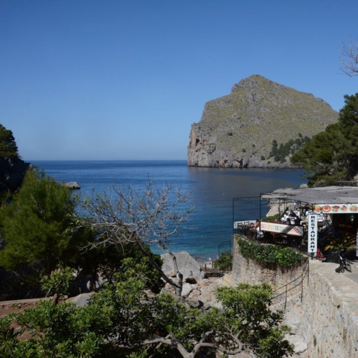 travel with kids children soller mallorca spain hiking torrent de pareis port